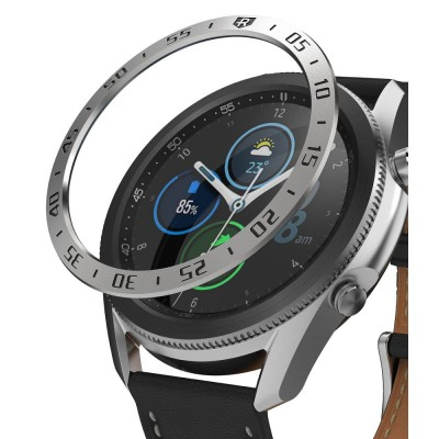 Ringke Bezel Galaxy Watch 3 45MM Stainless Silver